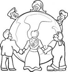 Small Picture Children aroun Kids Around The World Coloring Pages