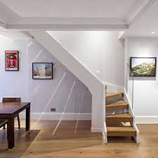 Basement Stairs Decorating Basement Staircase Decorating Ideas Staircase Contemporary With