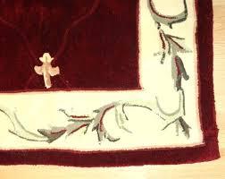 fleur de lis area rugs red rug black and white edubay