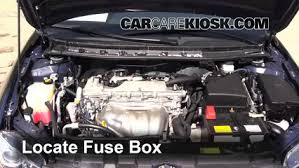 replace a fuse 2011 2016 scion tc 2012 scion tc 2 5l 4 cyl locate engine fuse box and remove cover