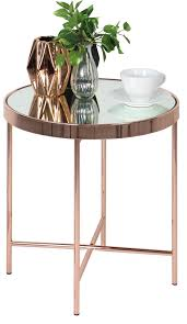 benigni round side table display