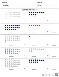 Kindergarten Worksheets | Dynamically Created Kindergarten Worksheets