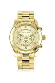 buy michael kors watches for men online fashiola co uk compare men watches michael kors men s runway tone stainless steel bracelet watch