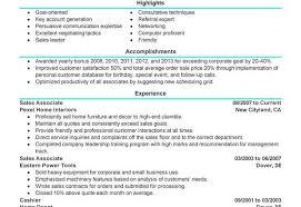 Sample Resume Customer Service Sales Associate | Krida.info