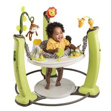 amazoncom  evenflo exersaucer jump and learn jumper jungle
