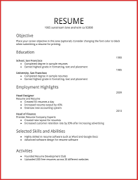 Resumes Examples Activities And Example New Of Hobbies In Personal
