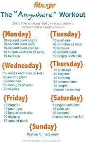 the anywhere workout from fit sugar working out fitness workout exercise