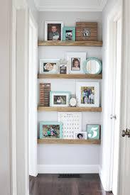 picture ledge diy floating shelves
