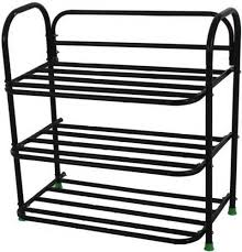 Footwear Display Stands Comfort Shoe Rack Cane Shoe Rack Chappal Stands Folding Metal 86