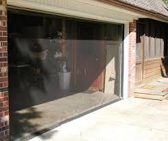 garage door screensGarage Door Screen Model B one zipper  Fresh Air Screens