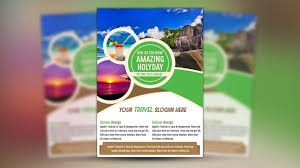 How To Design A Flyer In Photoshop How To Make A Travel Flyer Design Photoshop Tutorial