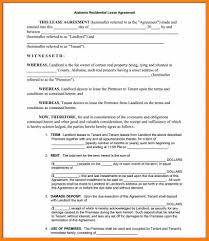 Printable Alabama Residential Lease Agreement