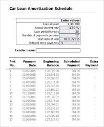 Sample Amortization Schedule In Excel 11 Examples In Excel