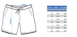 Nittaku Blade Chart Nittaku Shorts Wincuru 2495 Black