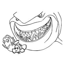 Finding Nemo Coloring Pages 40 Finding Nemo Coloring Pages Free