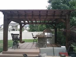 outdoor kitchen with timber pergola 3 imag0126 jpg shed style roof 1