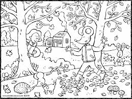 Wald Colouring Pages Kiddimalseite