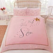 wish upon a star pink gold white girly magical striped bedding regarding pink and gold bedding