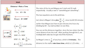 systems of equations distance problem