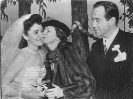 Flammentanz — Broderick Crawford and his first wife Kay Griffith