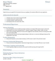 Special Marketing Manager Resume Philippines Best Resume Template
