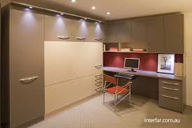 custom home office furnit. double fold down wall bed closed with home office and storage 1 custom furnit