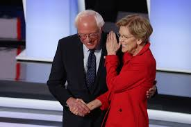Poll: Bernie, Warren surge to tie Biden atop Democratic field ...