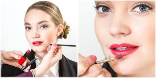 how to apply red lipstick for a professional makeup look for work with red lips and