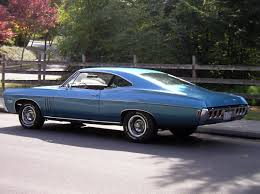 1968 Impala Fastback | This Grotto Blue L-72 car is owned by Grant ...