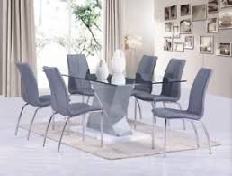 image is loading brand new castillo dining table and chairs white