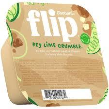 chobani flip key lime crumble low fat greek yogurt 5 3 oz
