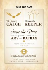 harry potter save the date diy printable