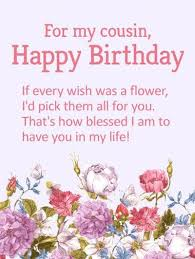 Cousin Love Quotes New 48 Happy Birthday Cousin Quotes With Images And Memes