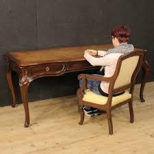 Scrittoio tavolo scrivania diplomatica mobile stile antico luigi