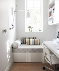 small guest room office. ANNA CARIN Design/Houzz Small Guest Room Office