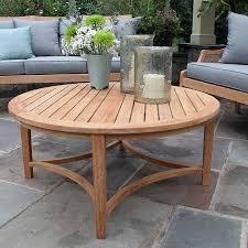 teak outdoor coffee table