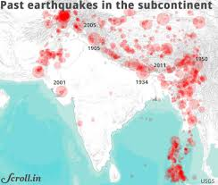 India states and union territories map. These 13 Indian Cities Face The Greatest Danger From Earthquakes According To A New Disaster Index