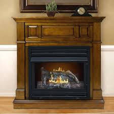 vent free electric fireplace dual fuel vent free wall mount gas fireplace spectrafire builders 39 in