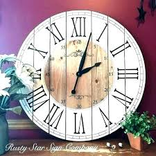 hobby lobby wall clocks large farmhouse wall clock rustic wall clock large wall clocks hobby lobby