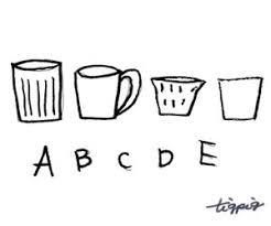 Hp制作に使える大人可愛い北欧雑貨風マグカップとabcdeの手書き文字