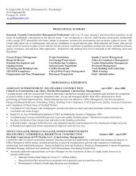 Resume For R Ulann Gibbs Construction Mgt 40 F No Phone Nos Adorable Office Manager Resume