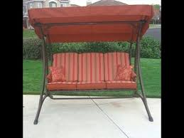 OSH Patio Swing Cushions Seat Support and Canopy Fabric