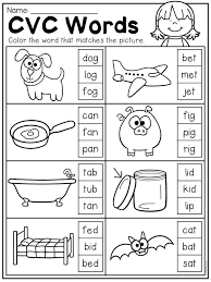 Cvc words 3º ei grade/level. Kindergarten Cvc Worksheet Packet Distance Learning Cvc Worksheets Kindergarten Kindergarten Reading Worksheets Phonics Kindergarten