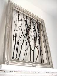 Easy Art Idea: Make Framed Branches