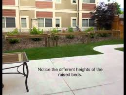 Small Picture wheelchair accessible raised plant beds barrier free YouTube