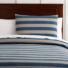 dylan stripe duvet cover twin navy khaki