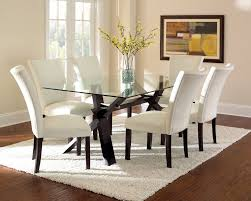 contemporary glass kitchen tables s intended design