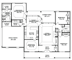 three bedroom house plans in kerala style 3 bedroom single floor house plans lovely single level