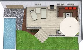 create and visualize outdoor areas