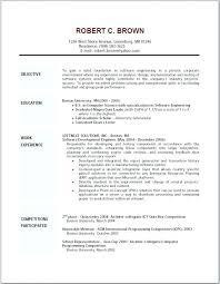Good Objective For Resume Impressive Best Objective In Resume Colbroco